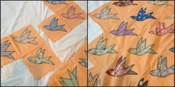 birdquilt collage