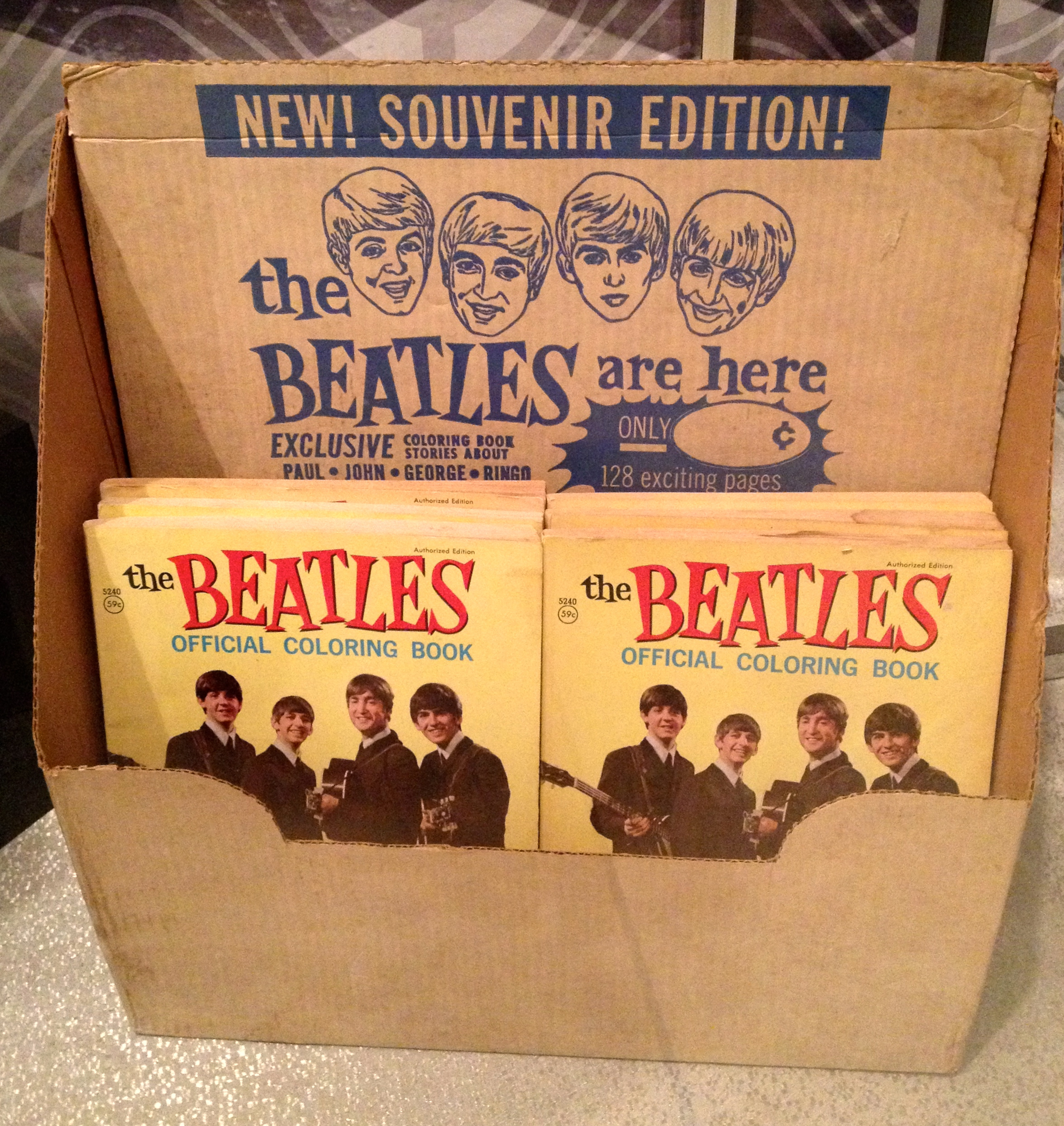youd buy a new box of crayolas just for this coloring book wouldn - Beatles Coloring Book