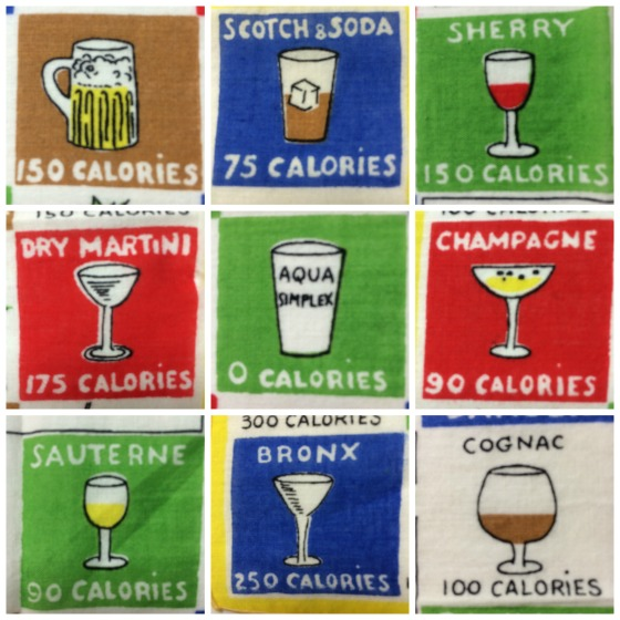 calories for alcohol graphics