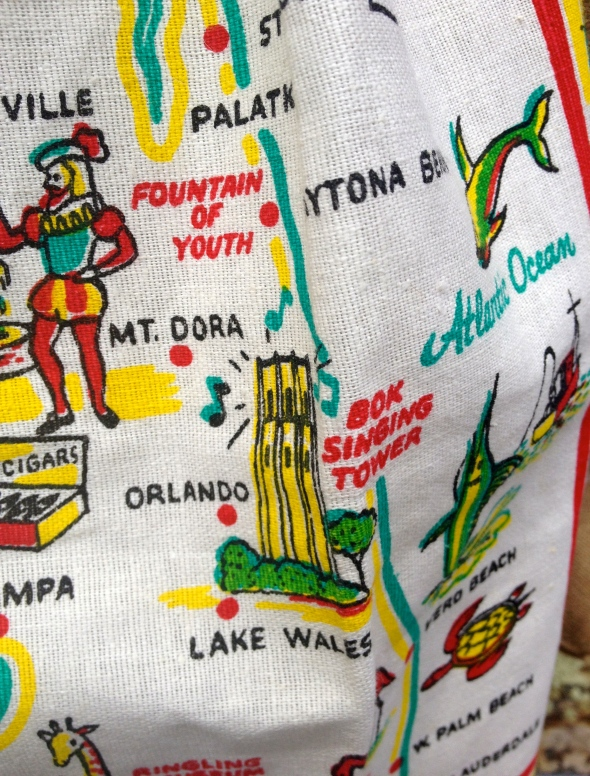 Orlando's on the map, but there's nothing there. Bok Singing Tower is in Lake Wales.