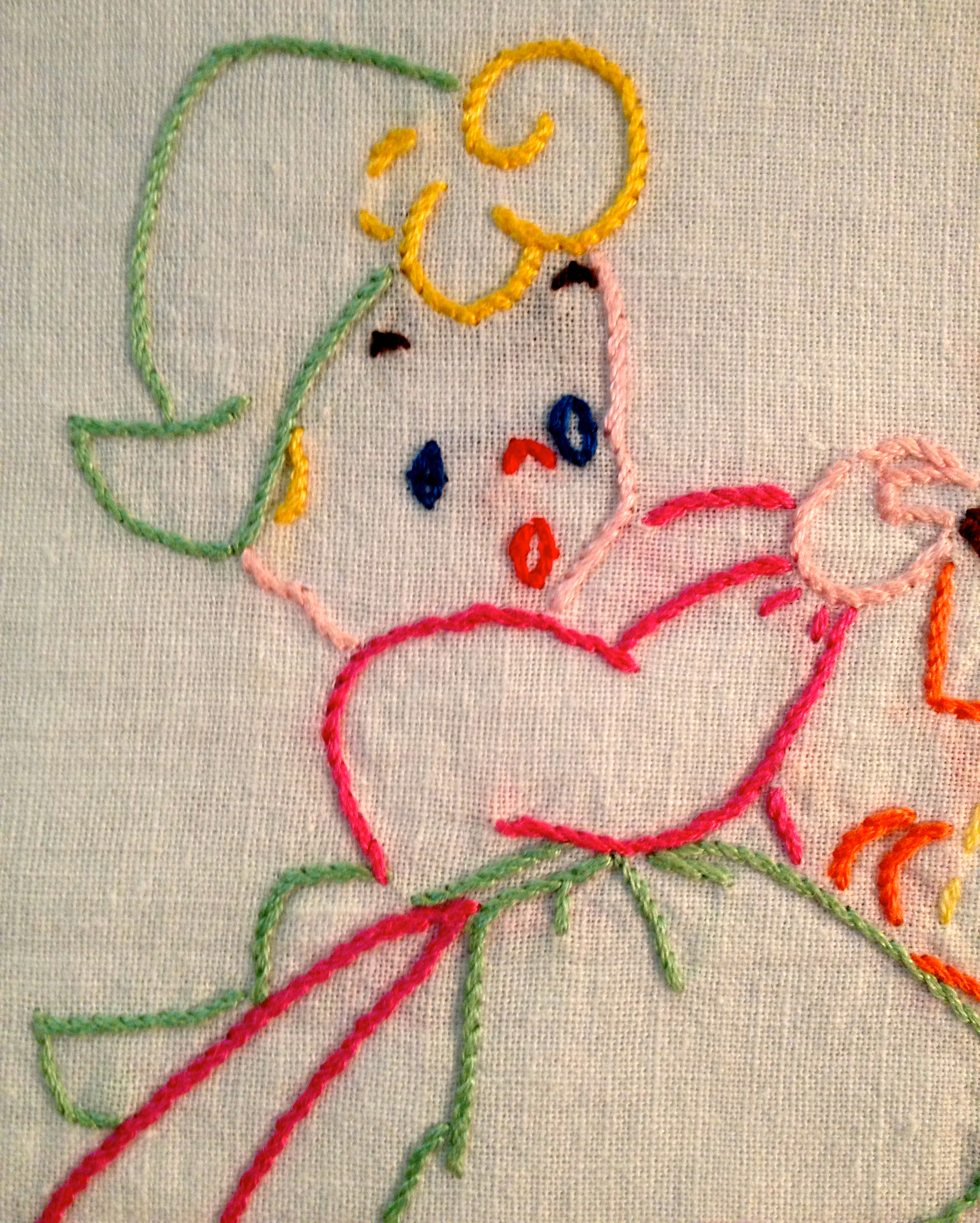 Simple Embroidery Its Just Ducky For Beginners Dish Sisters