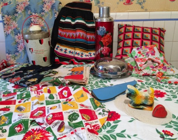 vintage treasures from antique shopping spree