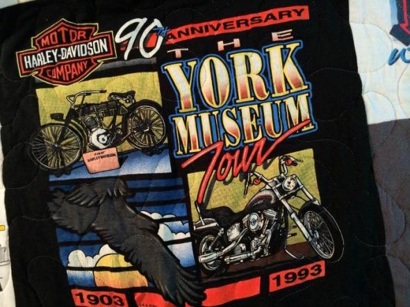 1993 harley museum tour shirt