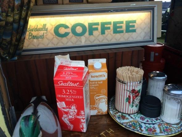 vintage coffee service