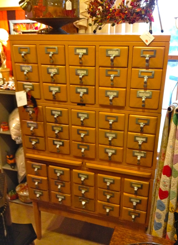 In case it isn't obvious yet, I have a thing for lots of little drawers.