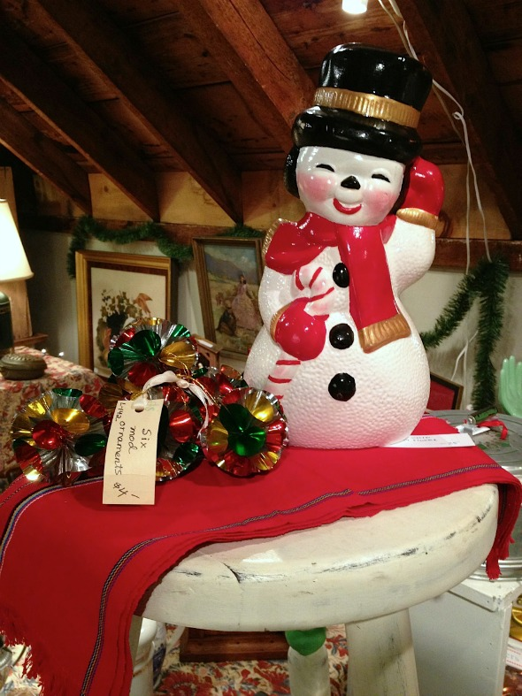 ceramic frosty the snowman