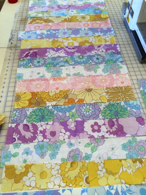 vintage sheet strips